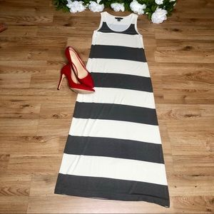 Tommy Bahama Wide Rugby stripe Maxi Dress